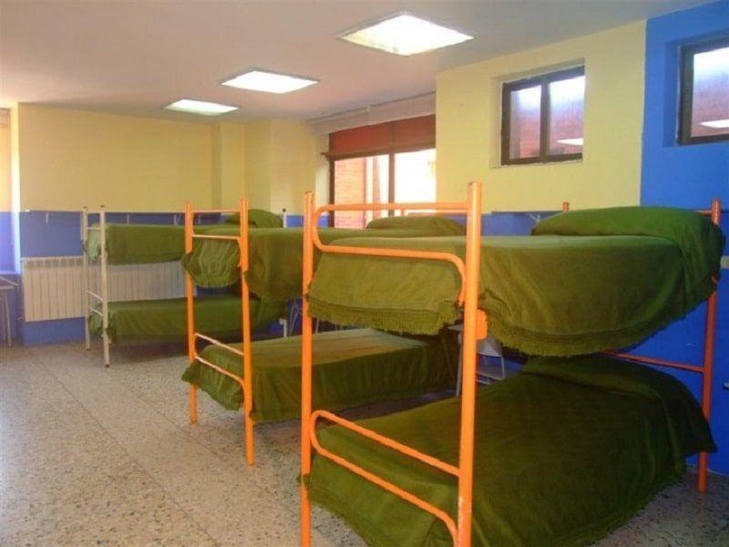 Albergue Aventura Náutica en Santander: Habitaciones