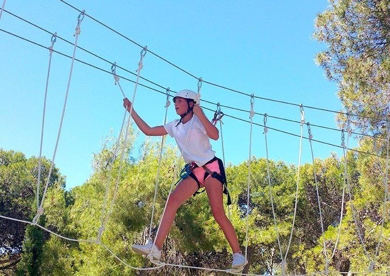 Campamento de verano Aventura en Marbella